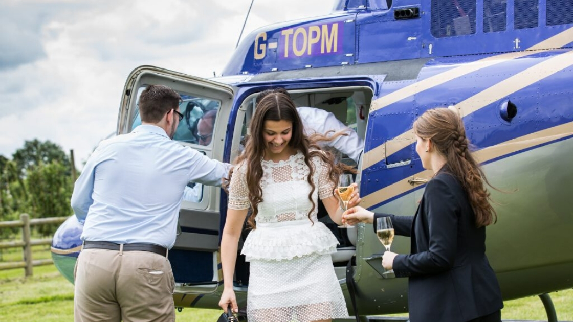 Helicopter Charter Hire Silverstone Cheltenham Ascot 7